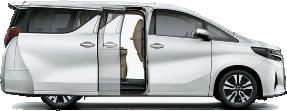 Toyota Alphard ANH-30 EL Car Rental